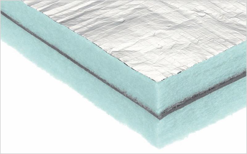 Isolamenti termoacusitici con fibra di poliestere